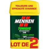 Mennen Déodorant stick  Tonique - 2x50ml