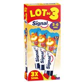 Signal Dentifrice enfant  3-6 ans Fruitfolo - 3x50ml