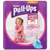Huggies Culotte  Pull-Ups Fille S 8-15kg x29