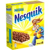 Nestlé Barres céréales Nesquik Nestlé 6x25g