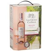 Cambras Vin rosé Ormes de Cambras Grenache IGP - BIB 5L