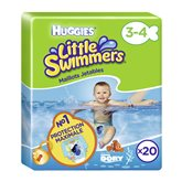 Huggies Couches  Little Swimmer Taille 3/4 - x20