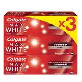 Colgate Dentifrice max  White one - 3x75ml