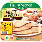 Fleury Michon Filet de poulet  4 tranches x2 - 240g