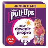 Huggies Culottes Pull-Ups Huggies Jour Fille 2-4 ans 18/23kg -x25