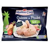 Maître Coq Cuisses de poulet  Bio, déjointes - 550g