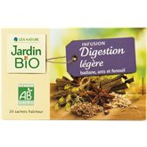 Jardin Bio Infusion  Anis digestion légère x20