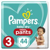 Pampers Couches  Baby Dry T3 : 6/11kg - x44