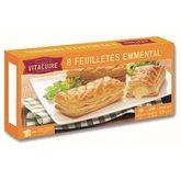 Vitacuire Feuilleté friand emmental Vitacuire - 8x65g