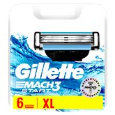 Gillette Lames Gillette Mach3 Start - x6