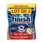 Finish Tablettes lave vaisselle  Tout en 1 powerball - 1.468kg