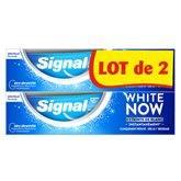 Signal Dentifrice  White Now original - 2x75ml
