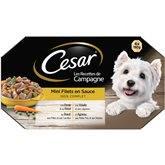 Cesar Barquette mini filets  En sauce - 4x150g