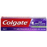Colgate Dentifrice  Menthe zéro carie 75ml