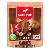 Côte d'Or Carré  Lait noisette 200g