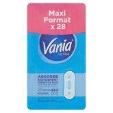 Vania Serviettes hygiéniques Vania Normal - x28