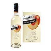 Festalie Boisson à base de vin blanc Festalie Pêche - 75cl