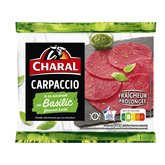 Charal Carpaccio au basilic Viande bovine - 230g