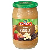 Andros Compotes Andros Pomme vanille 750g