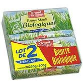Grand Fermage Beurre 1/2 sel  Bio - 2x250g